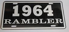 METAL LICENSE PLATE 1964 64 RAMBLER NASH AMC AMERICAN MOTORS 660 440