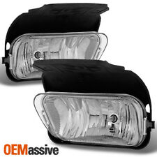Fit 2003-2006 Silverado Avalanche Bumper Fog Lights Lamps L+R 2004 2005s