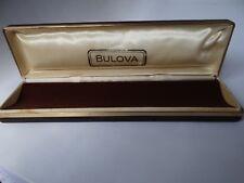 Bulova  Accutron Watch Box Vintage 1960's