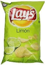 Lay's Limon Flavored Potato Chips 8oz Bags (Pack of 4)