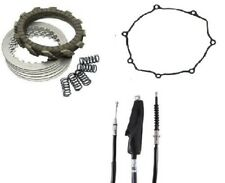 Suzuki DR-Z 400 400E 400S 400SM Tusk Clutch, Springs, Cover Gasket, & Cable Kit