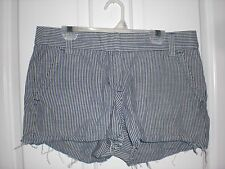 Crew Blue Striped Sailing Shorts Size 4