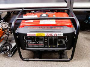 Predator 4000 Watt Gas Powered Portable Generator (Open Box)