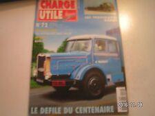**d Charge Utile n°72 Les transports Bonal / Joseph Basset / Une Ferme Auberge