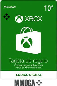 Xbox Live 10 Euros Tarjeta de Regalo - Microsoft Xbox €10 Código Prepago - ES&UE