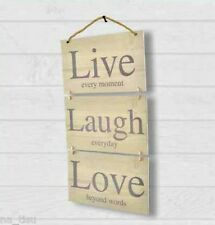 Wall LIVE LAUGH LOVE Plague home Hanging Wall decoration slogan hallway