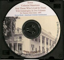 Colonial Mansions and Families that Lived In Them - VA