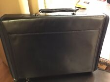 Seeger Briefcase Stunning Leather Vintage Handmade in Germany