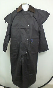 Blue Heeler *34273 Riding Coat Wachsjacke Outdoor Mantel Herren Gr. M Braun