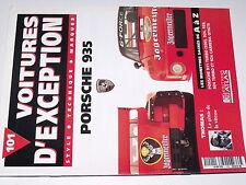 µµ Voitures d'Exception n°101 Poster 4 pages Porsche 935  THOMAS