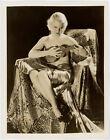 Vintage 1930s Beautifully Risqu Mary Carlisle George Hurrell Glamour Photograph