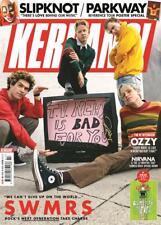 KERRANG! magazine February 2019: SWMRS + art print - Slipknot Parkway Nirvana