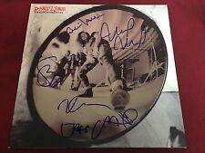 PEARL JAM SIGNED VINYL LP ALBUM GREATEST HITS X5 EDDIE VEDDER PROOF