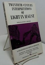 Twentieth Century Interpretations of Light in August by William Faulkner