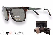 Serengeti Enzo Clip on Sunglasses Gunmetal_Torte_Polarised Photochromic CPG 8083