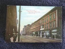 Early 1900's View on Fourth Avenue in Louisville, KY Kentucky  PC