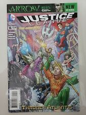JUSTICE LEAGUE #16 (2013) DC 52 COMICS FOSS VARIANT COVER! THRONE OF ATLANTIS NM