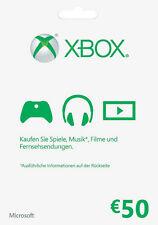 Microsoft K4W-00048 Xbox Live Karte- 50 Euro