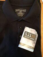 5.11 Tactical Women 61166  Short Sleeve Professional Polo Shirt Black Large