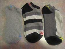 3 pairs Men Crocs No Show Socks 10-13