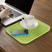 Heat Resistant Silicone Non-slip Trivet Pot Pan Holder Rectangle Pad Mat Kitchen