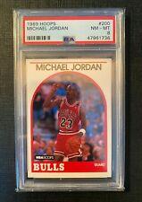 1989 Hoops Michael Jordan #200 PSA 8 NM