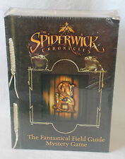 TheSpiderwick Chronicles The Fantastical Field Guide Mystery Game New Sealed