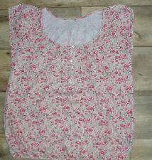Gorgeous M & Co size S cotton ditsy floral top