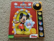 Disney Mickey Mouse Club House Trick or Treat play a sound