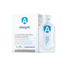 Allergoff Allergen Anti Allergy Relief Neutralizing Washing Additive Ampules