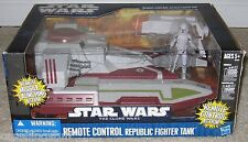 Star Wars Clone Wars REMOTE CONTROL REPUBLIC TANK Vehicle Hasbro 2010 New