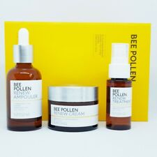Missha Bee Pollen Renew Special Set Ampouler Cream Treatment Anti Aging K-Beauty