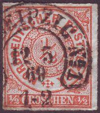 NDP 3 HUS Hufeisen-Stempel LEIPZIG No.1 Feuser Sachsen 154 Spalink 21-1