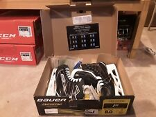 New Bauer Supreme 1S Stock Hockey Goalie Skates Size 8 D 8.0D