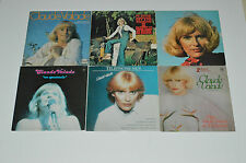 CLAUDE VALADE 6 LP RECORD ALBUMS LOT COLLECTION Telephone-moi/Histoire D'amour+
