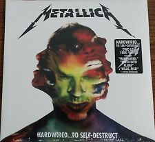 Metallica HARDWIRED...TO SELF-DESTRUCT 180g +MP3s GATEFOLD New Sealed Vinyl 2 LP