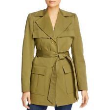 Elie Tahari женские остров траншеи грузовой карман куртка Верхняя одежда bhfo 7110