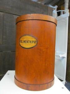 XL Käuterdose,antike Holztrommel,Apothekerdose,Vintage,Apothekerkiste