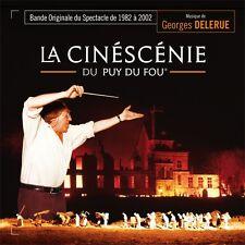 LA CINESCENIE DU PUY DU FOU (MUSIQUE) - GEORGES DELERUE (CD)