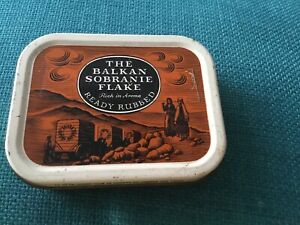 Balkan Sobranie Flake Tobacco Tin -  London, UK - Collectable - Vintage