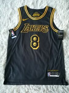 Authentics nike Kobe #8 Lakers City Edition Lore Series Size 44 M