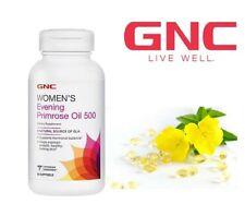 GNC Womens Evening Primrose Oil 500 Support Hormonal Balance 90caps