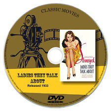 Ladies They Talk About 1933 Classic DVD Film - Drama