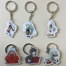 Inuyasha  Sesshoumaru Moneca Stori Key Chain Key Ring Six Pieces