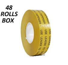 "48 rolls 3/4"" ATG Adhesive Transfer Tape (Fits 3M Gun) Photo Craft Scrapbooking"