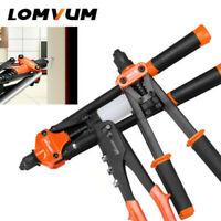 LOMVUM Hand Riveter Rivet Guns Replaceable Nuts Insert Home Riveting Repair Tool