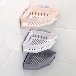 Shower Caddy Shelf Bathroom Corner Bath Storage Organizer Triangular Rack Charm