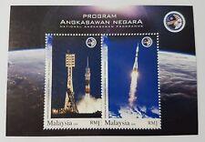 2008 Malaysia Space Rocket Astronaut Angkasawan Flag Mini Sheet Stamps Mint NH