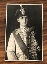 Portrait Otto von Habsburg in ungarischer Kleidung