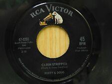 Rusty & Doug 45 Cajun Stripper bw Half The Time - RCA VG+